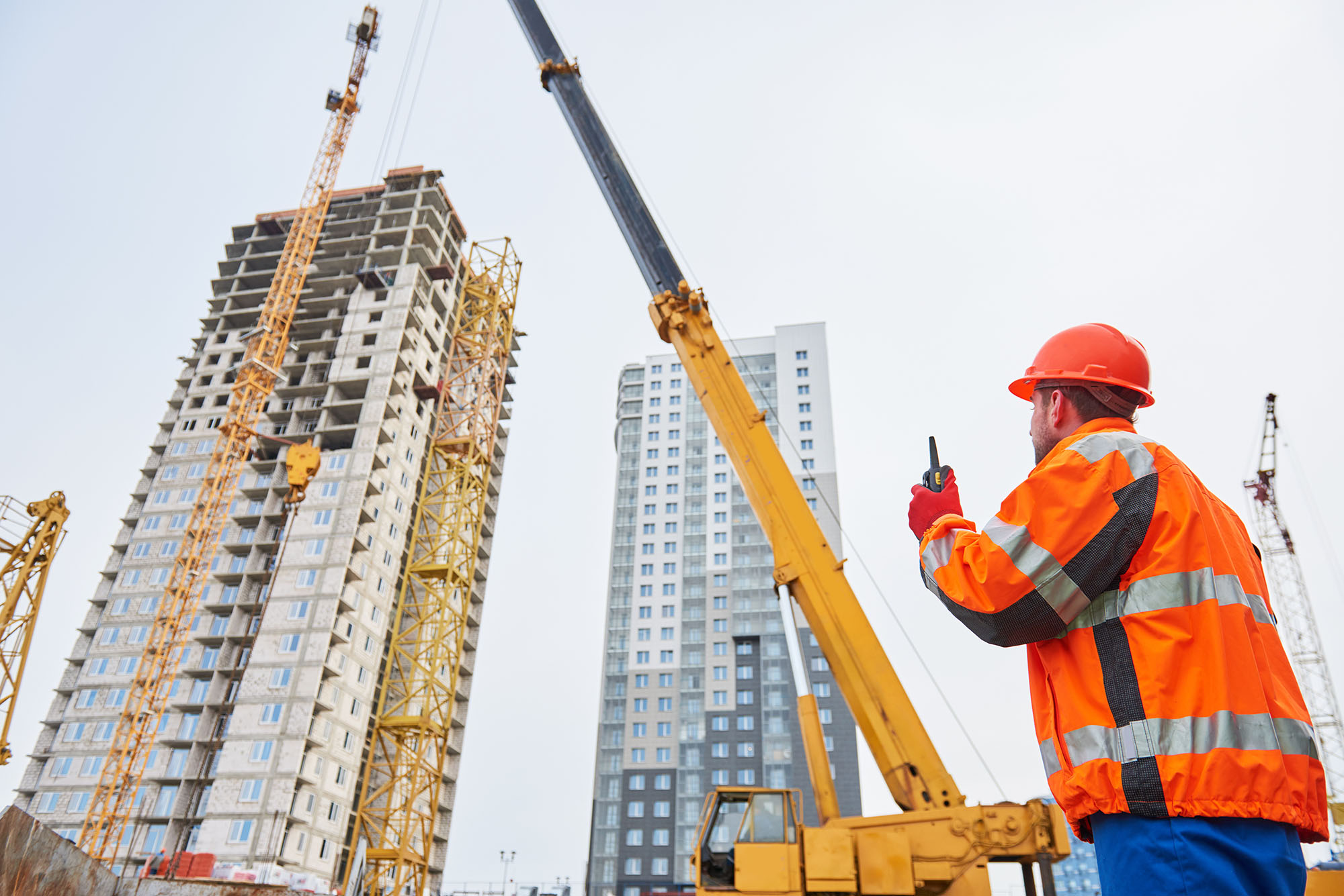 accidents involving cranes working at height injury claim solicitors Aberdeen