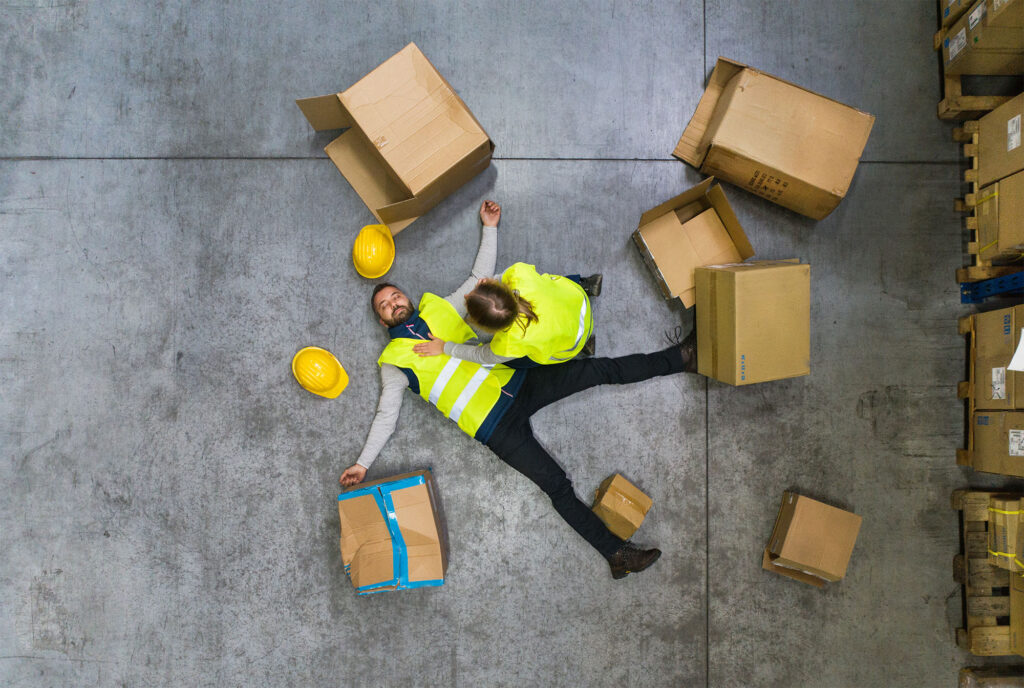 workplace accident fall trip slip accident personal injury solicitors Aberdeen