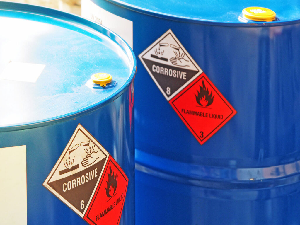 chemical injury at work compensation Aberdeen