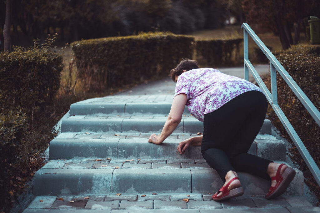 slip and fall on stairs public place accident solicitors Aberdeen