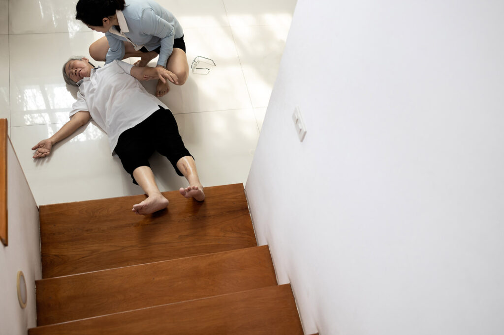 fall down stairs accident compensation claims solicitors Aberdeen