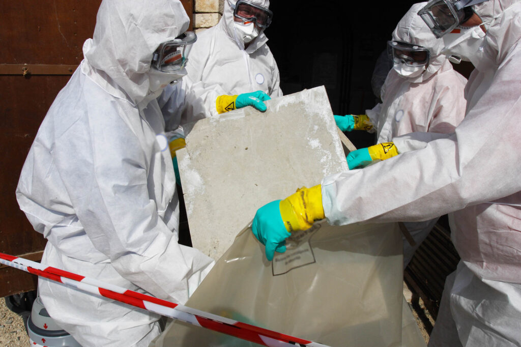 Working with asbestos dangers, employer negligence claims Aberdeen