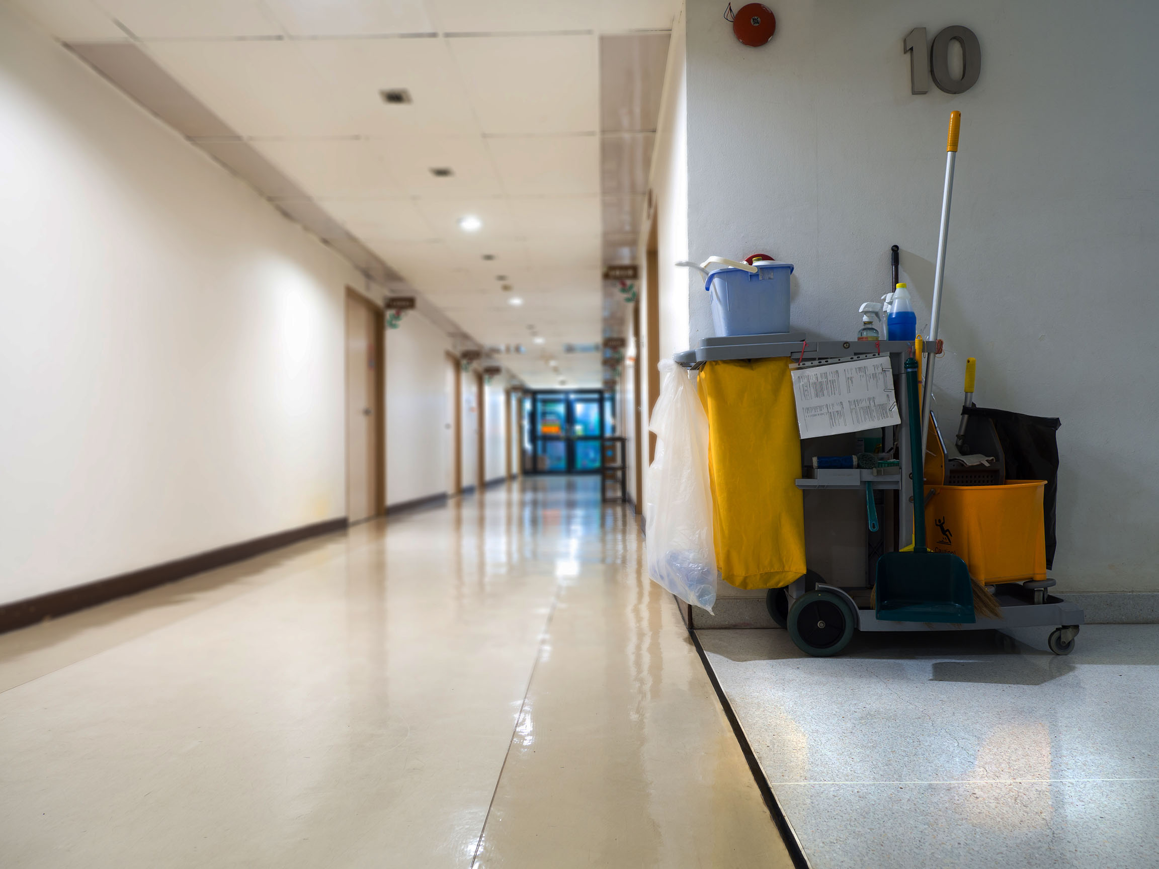 slip trip wet floors polished injury compensation claims Aberdeen