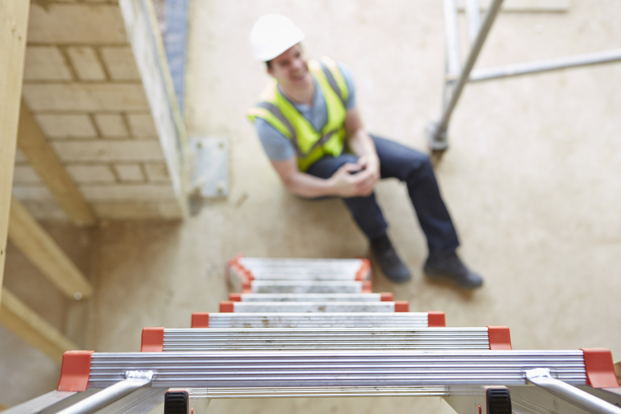 Construction Worker Fall - workplace accident compensation claims Aberdeen