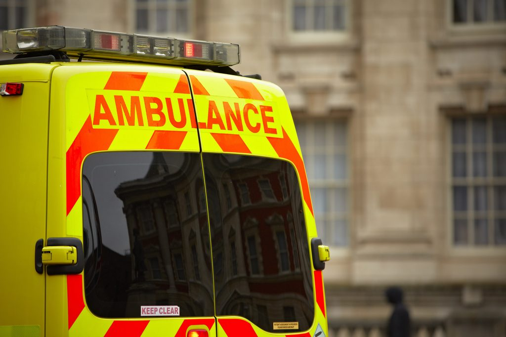 Ambulance, personal injury solicitors, accident claim managers