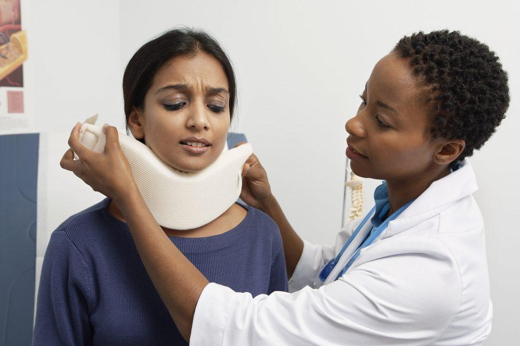 whiplash neck injury doctor