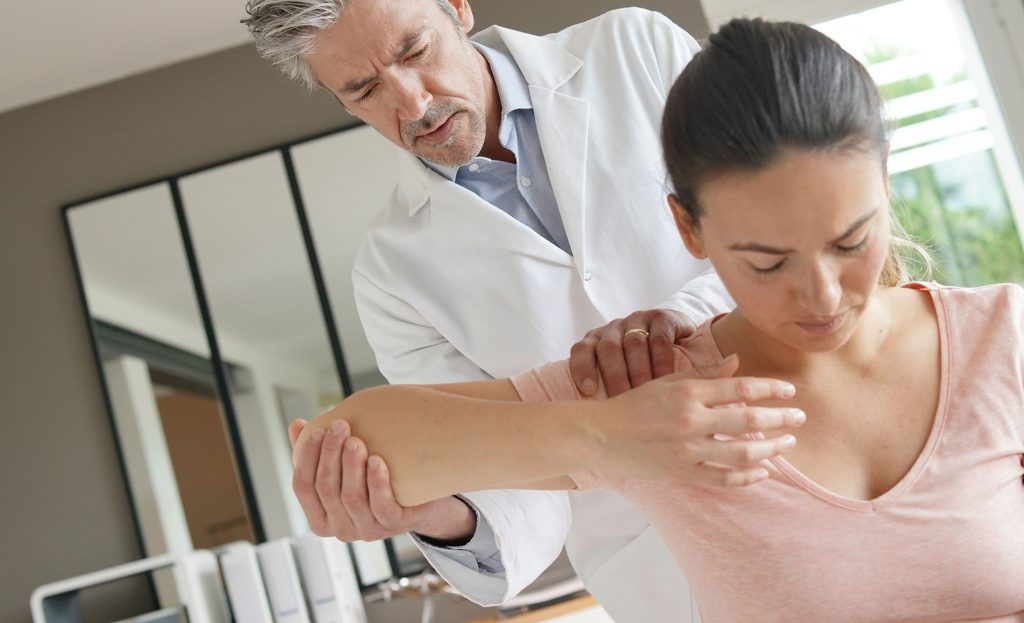 shoulder injury compensation - Physiotherapy